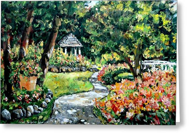 La Paloma Gardens Greeting Card