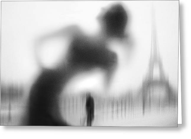 La Parisienne Greeting Card by Eric Drigny