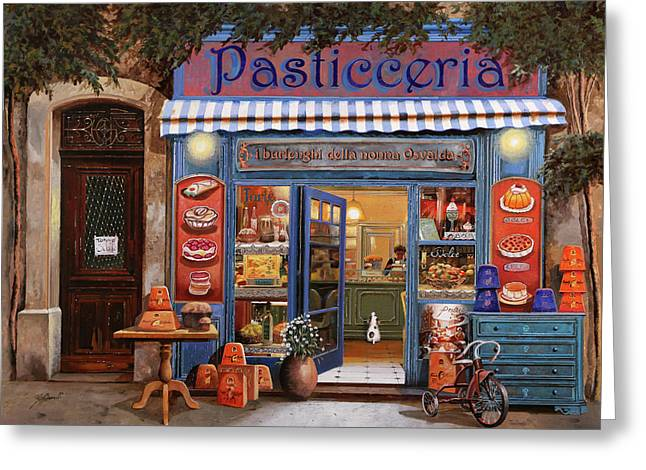 La Pasticceria Greeting Card