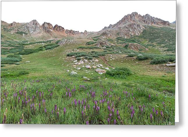 Greeting Card featuring the photograph La Plata Peak by Cascade Colors