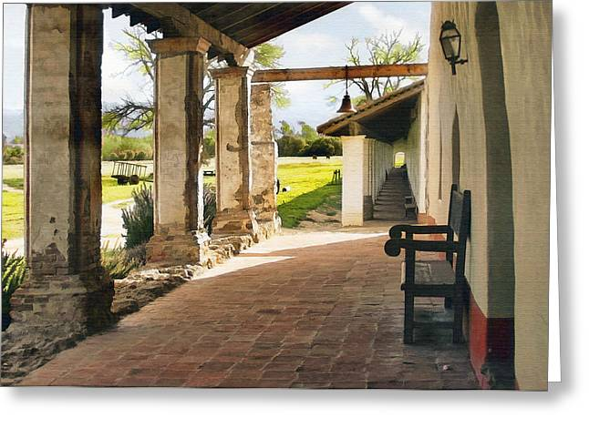 La Purisima Long View Greeting Card