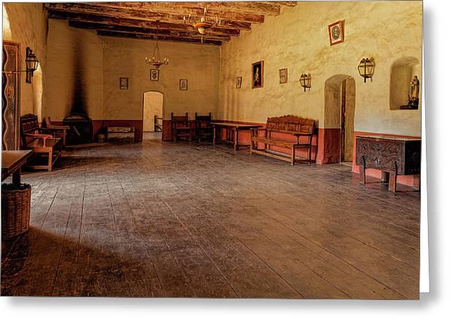 La Purisima Main Room Greeting Card by Thomas Hall