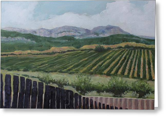 La Rioja Valley Greeting Card