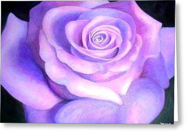 La Rose Greeting Card