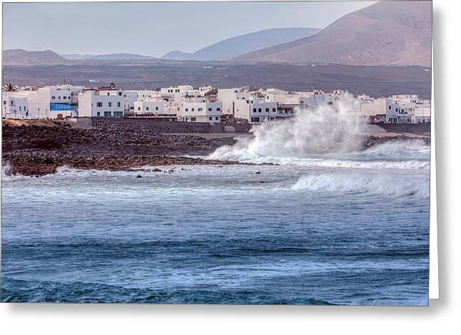 La Santa - Lanzarote Greeting Card by Joana Kruse