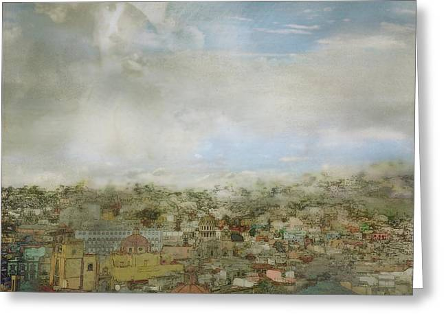 La Senora De Guanajuato Greeting Card by Yolanda Nussdorfer