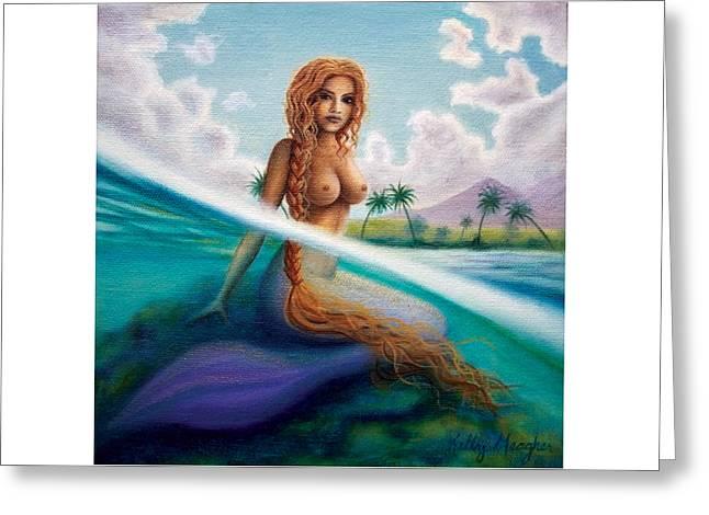 La Sirena De Rincon Greeting Card by Kelly Meagher
