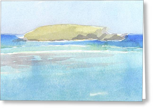La Tortue, St Barthelemy, 1996_0046 60x35 Cm Greeting Card