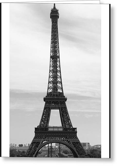 La Tour D'eiffel Greeting Card