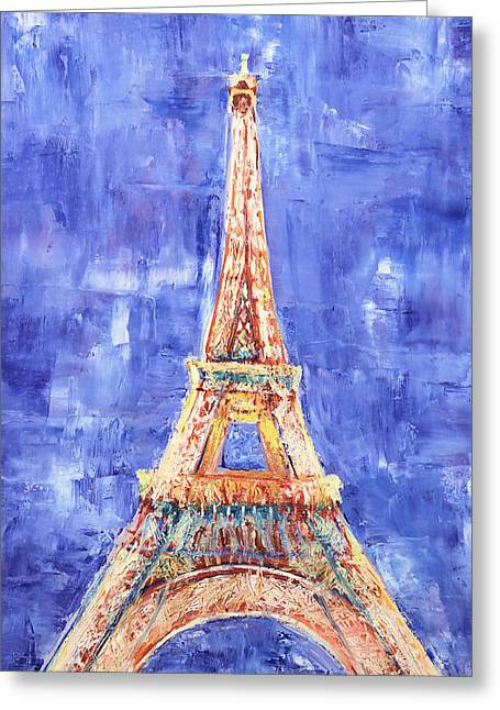 La Tour Eiffel Greeting Card