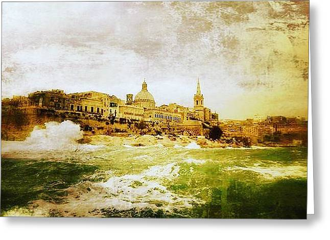 La Valletta Greeting Card