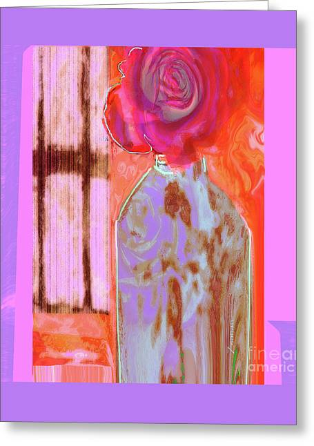 La Vie En Rose  1 Greeting Card