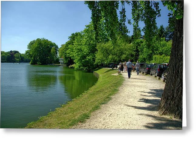 Lac De Genval Greeting Card