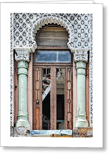 Lace Facade Greeting Card
