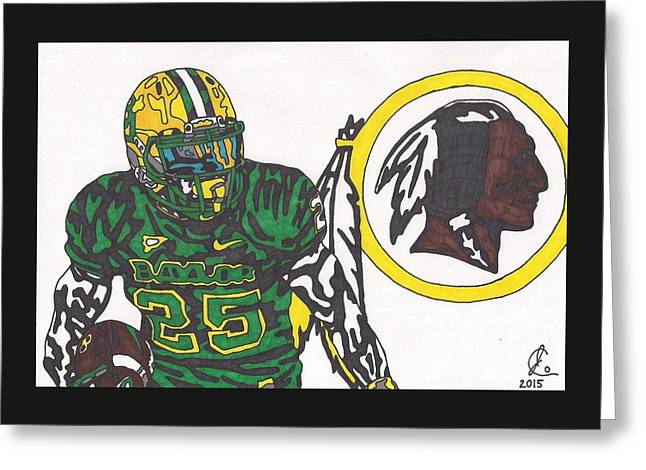 Lache Seastrunk  Greeting Card by Jeremiah Colley