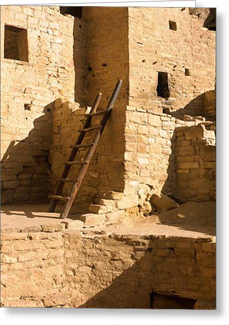 Ladder At House, Cliff Palace, Mesa Greeting Card