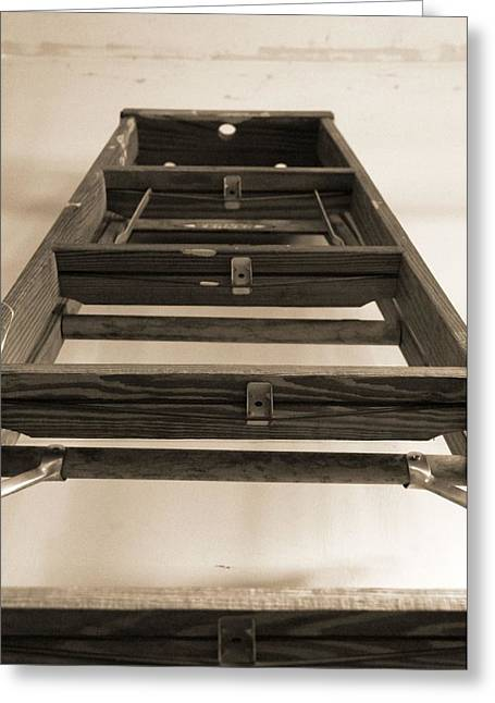 Ladder Greeting Card by Dan Sproul