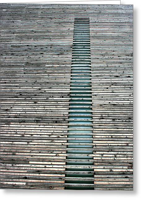 Greeting Card featuring the photograph Ladder To Zen by David Dunham
