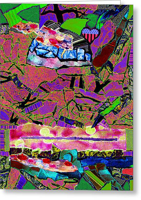 Kenneth James Greeting Cards - Ladies and Gentleman Greeting Card by Kenneth James