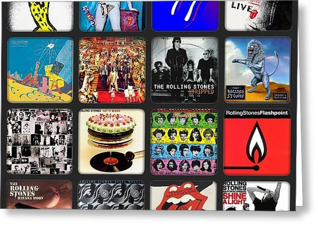 Ladies And Gentlmen The Rolling Stones Greeting Card