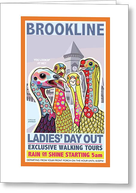 Ladies' Day Out Greeting Card