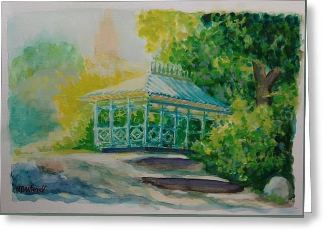 Ladies Pavilion, Cpnyc Greeting Card