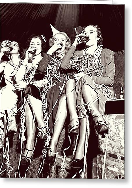 Ladies Toast End Of Prohibition Greeting Card