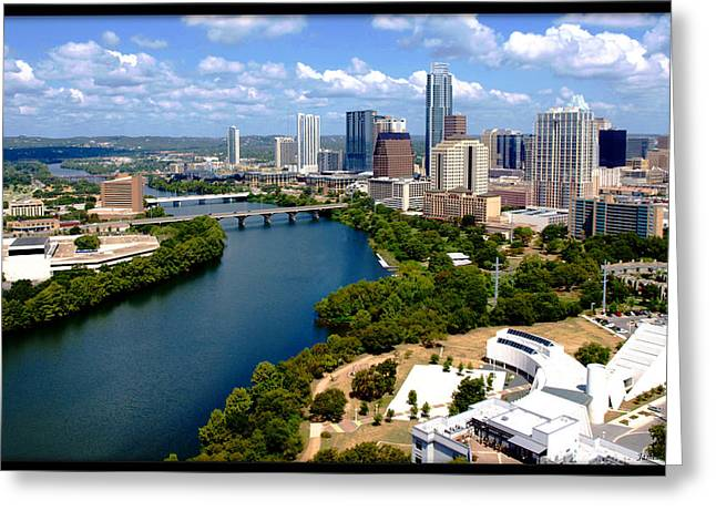 Lady Bird Lake Austin Texas Greeting Card