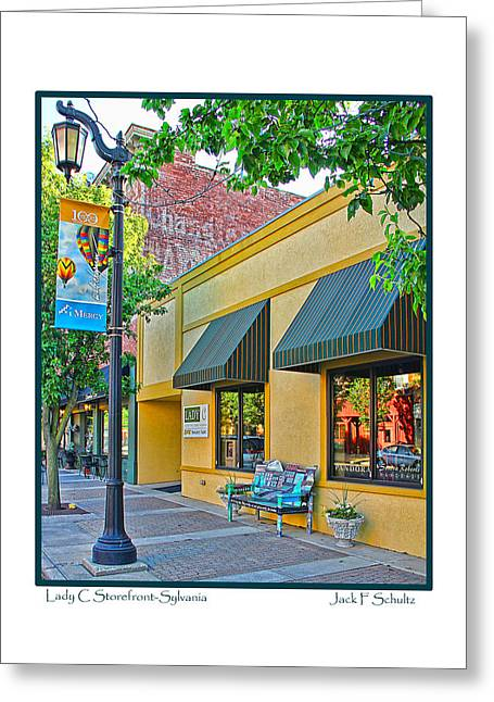 Lady C Storefront-sylvania Greeting Card