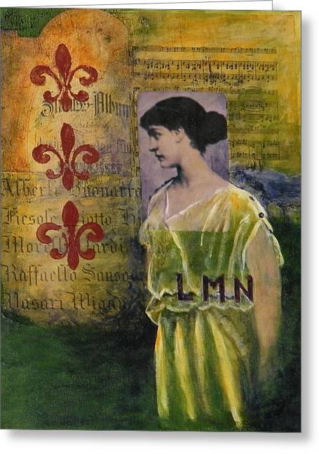 Lady In Waiting Greeting Card by Terry Honstead
