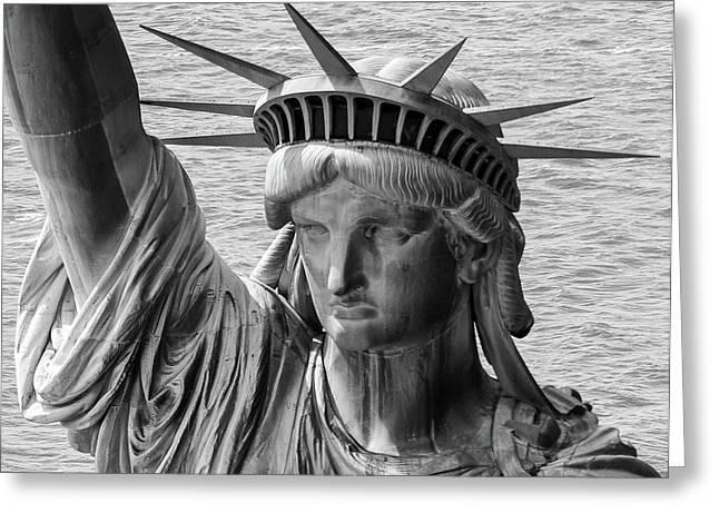 Lady Liberty 1 Greeting Card