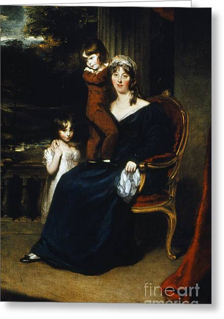 Lady Louisa Harvey Greeting Card by Granger