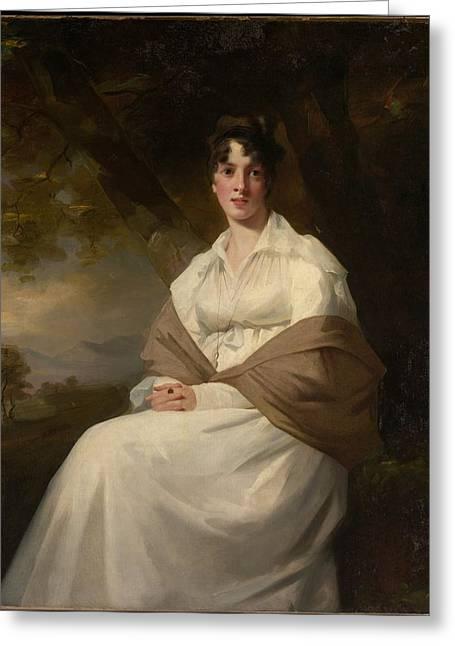 Lady Maitland Greeting Card by Henry Raeburn