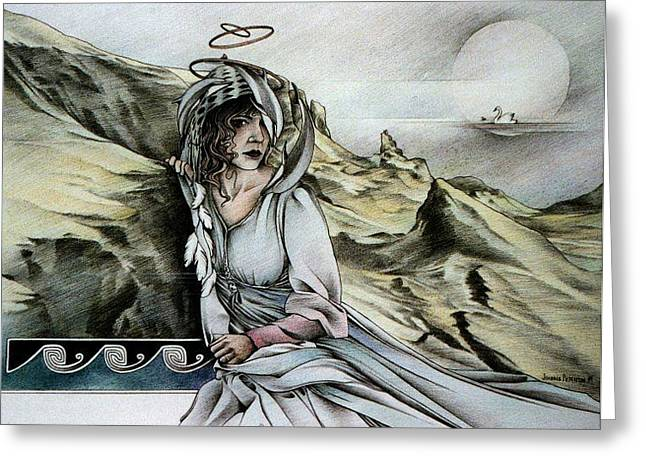 Lady Of Skye Greeting Card