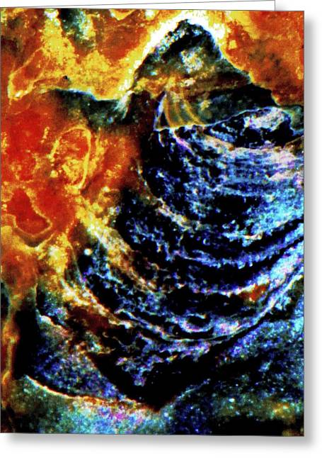 Lady Of The Shell Greeting Card