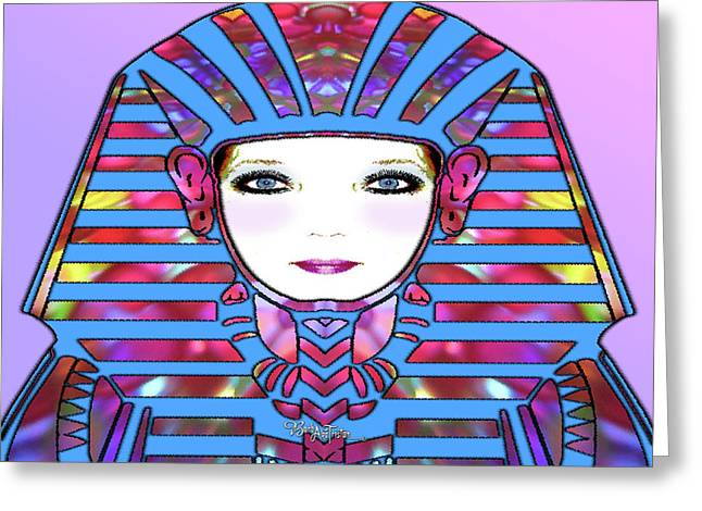 Greeting Card featuring the photograph Lady Tut #191 by Barbara Tristan
