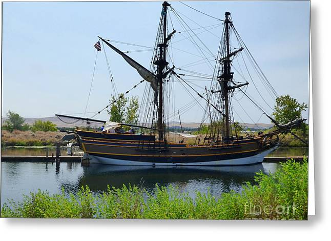 Lady Washington In Pasco Greeting Card
