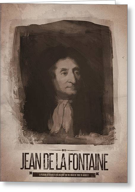 Jean De La Fontaine Greeting Card