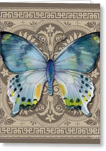 Laglaizei Butterfly Design Greeting Card by Amy Kirkpatrick