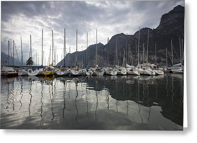 Lago Di Garda Greeting Card by Andre Goncalves