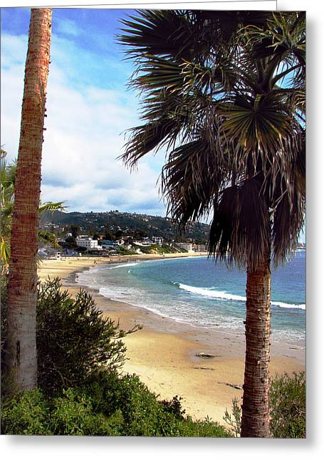 Greeting Card featuring the photograph Laguna Beach 2 by Joanne Coyle