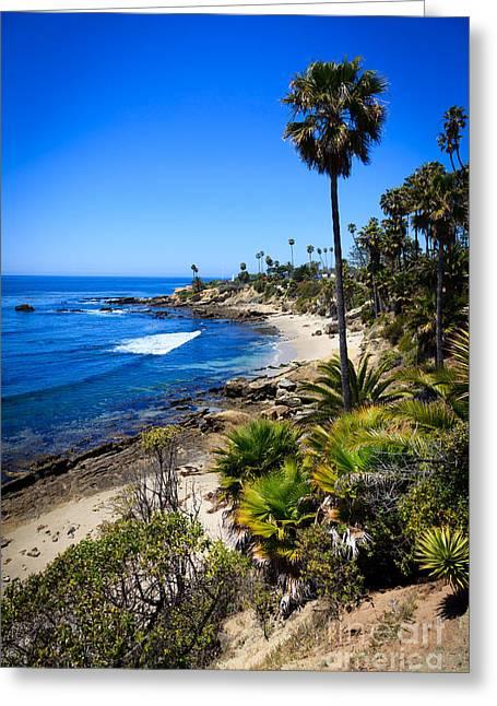 Laguna Beach California Beaches Greeting Card by Paul Velgos