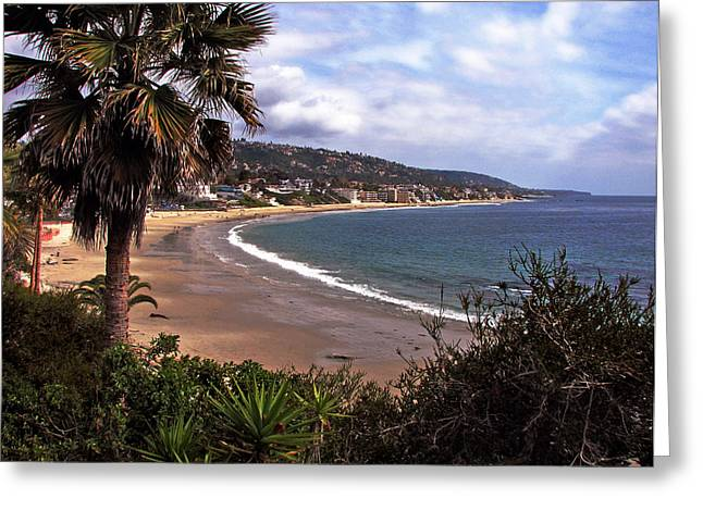Greeting Card featuring the photograph Laguna Beach by Joanne Coyle