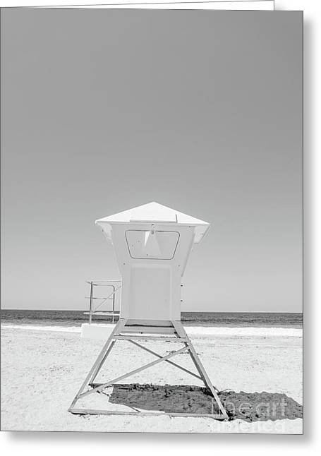 Laguna Beach Lifeguard Tower Photo Greeting Card