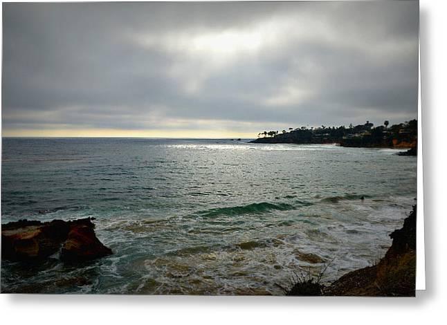 Laguna Beach Sunset Greeting Card by Glenn McCarthy Art and Photography