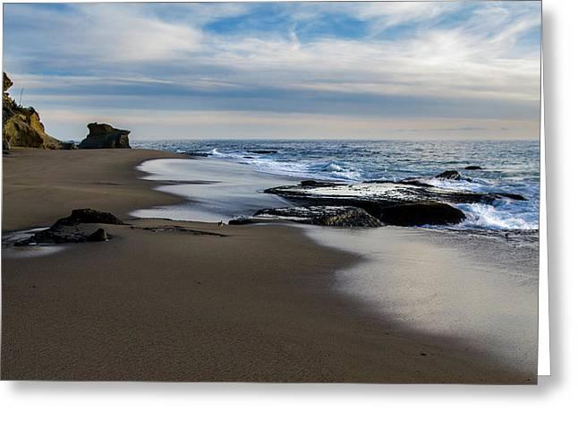 Laguna Beach Greeting Card by Tammy Gann