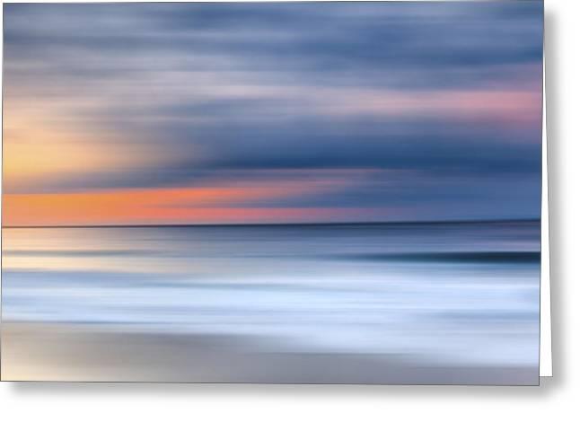 Laguna Hues Greeting Card by Sean Davey