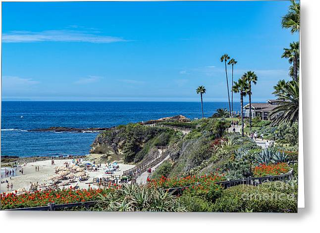 Laguna Montage Treasure Island Panorama Greeting Card