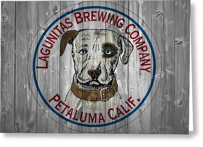 Lagunitas Brewing Company Barn Door Greeting Card