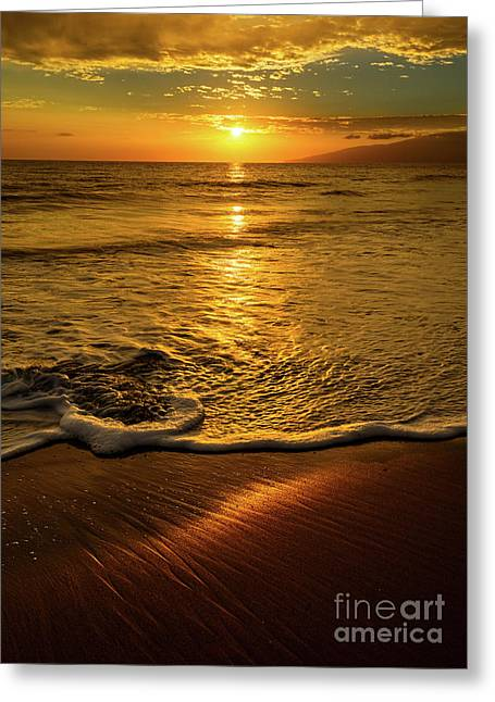 Lahaina Glow Greeting Card